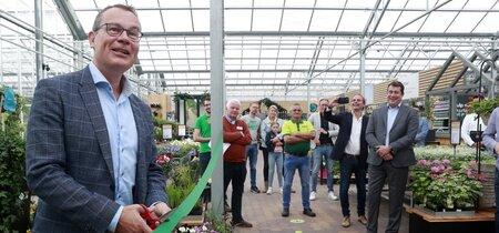 Wethouder Mario Jacobs opent eerste Groene Klimaatpleinen